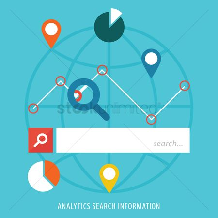 Map pointer : Analytic search information