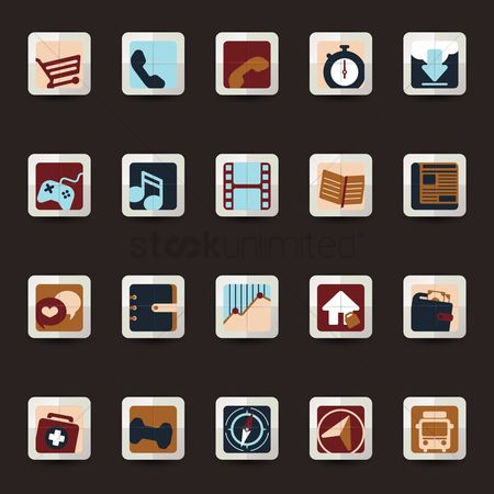 Calling : App icon collection