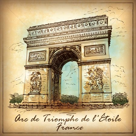 Monuments : Arc de triomphe