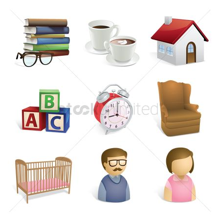 Cup : Assorted icons