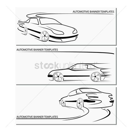 Tyre : Automotive banner template
