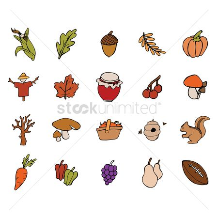 Agriculture : Autumn themed collection