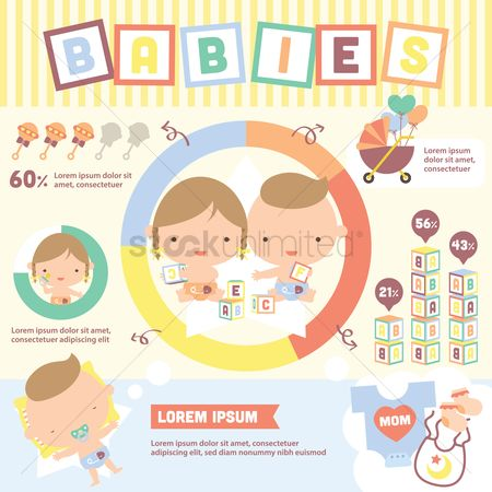 Blocks : Babies infographic