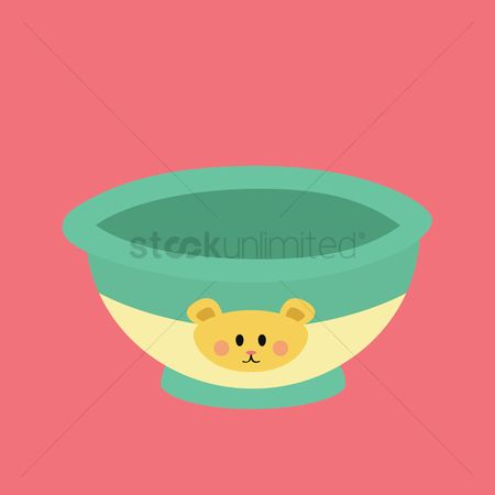 Snack : Baby food bowl