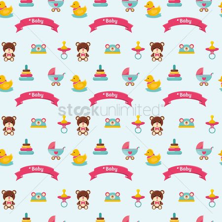 Background : Baby items background