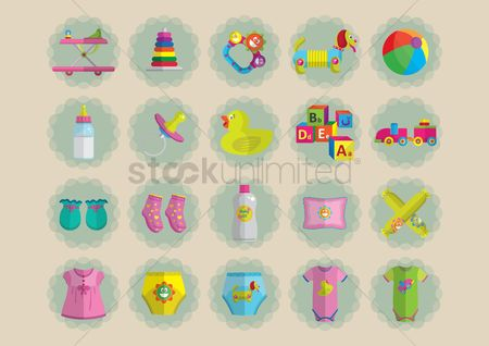 Sock : Baby items collection