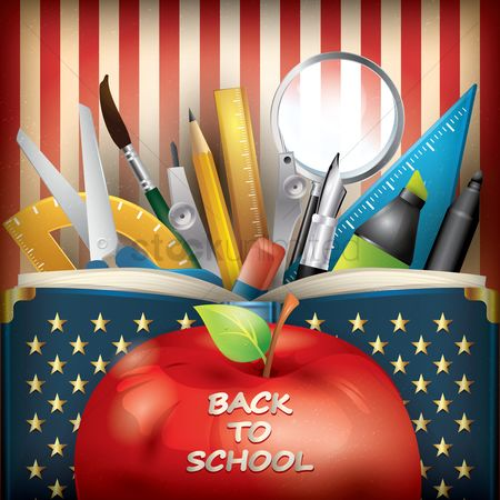 Brushes : Back to school wallpaper