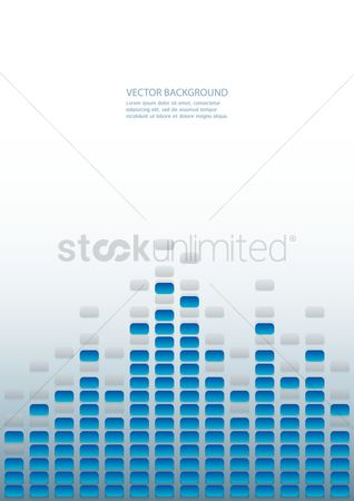Musicals : Background with equalizer bar