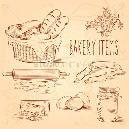 Sausage : Bakery items