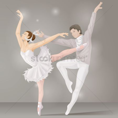 Dancing : Ballet dance couple