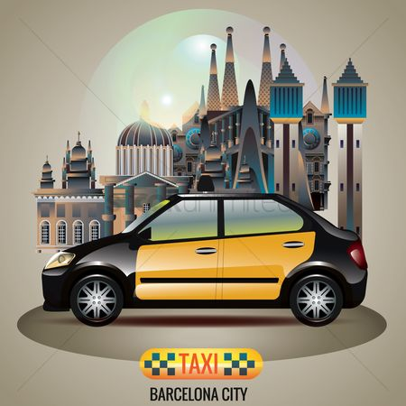 Taxis : Barcelona city taxi