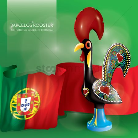 Nationality : Barcelos rooster with portugal flag