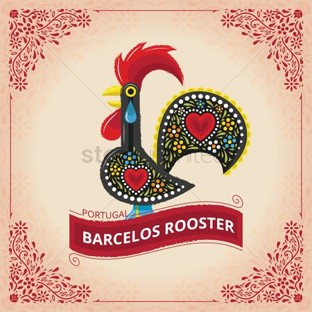 Roosters : Barcelos rooster