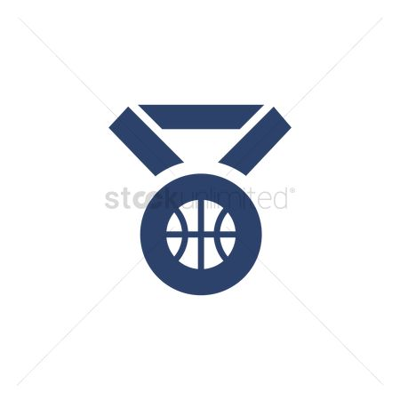 Reward : Basketball medal ribbon