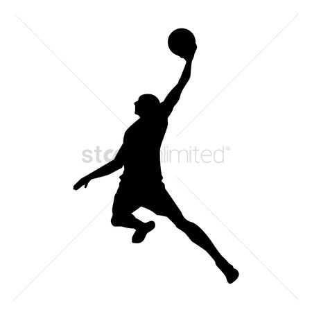 Basketball : Basketball player in action