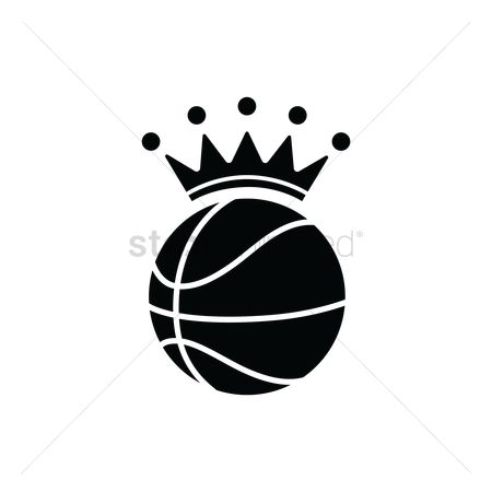 Royal : Basketball with a crown
