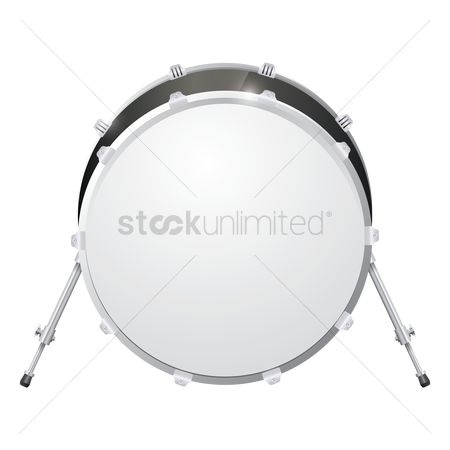 Percussions : Bass drum