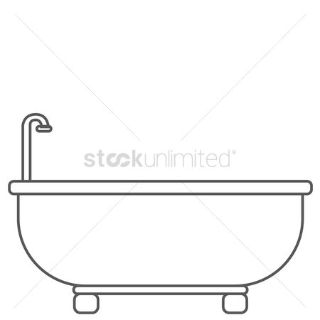 Faucets : Bath tub
