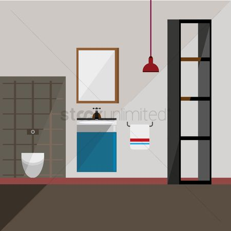 Indoor : Bathroom interior