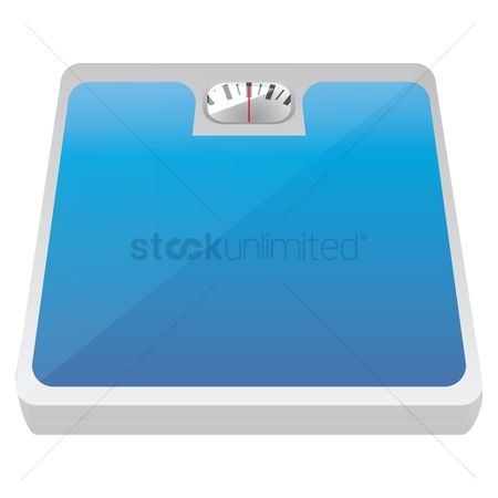 Machines : Bathroom weight scale