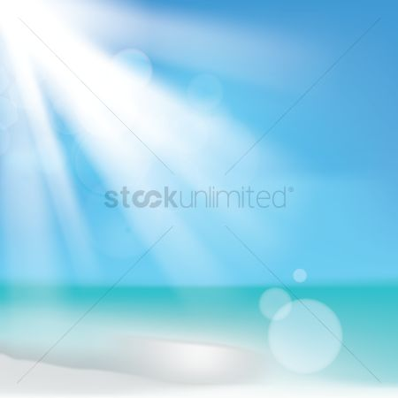 Sunray : Beach background