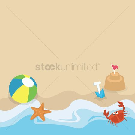 Starfishes : Beach during summer
