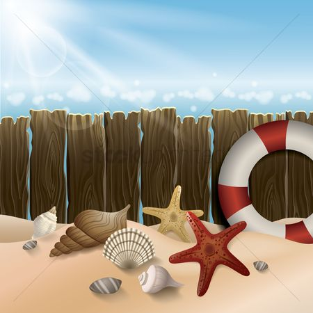 Starfishes : Beach wallpaper