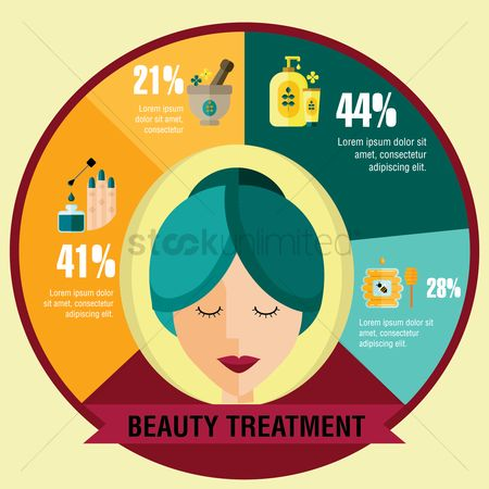 Health cares : Beauty treatment template