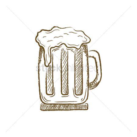 Free Beer Draw Stock Vectors Stockunlimited
