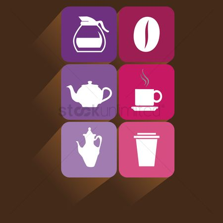 Teapot : Beverage icons