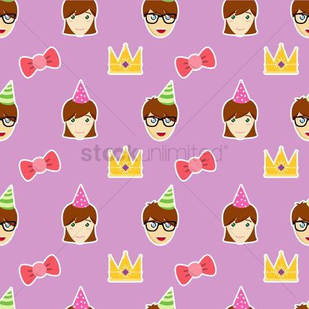 free seamless birthday background stock vectors stockunlimited