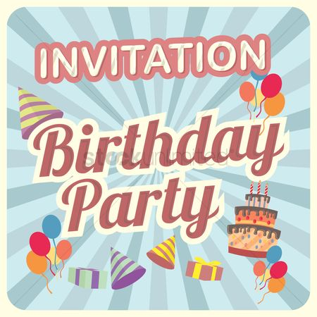 Party : Birthday invitation