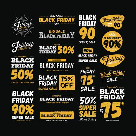 Commercials : Black friday sale collection