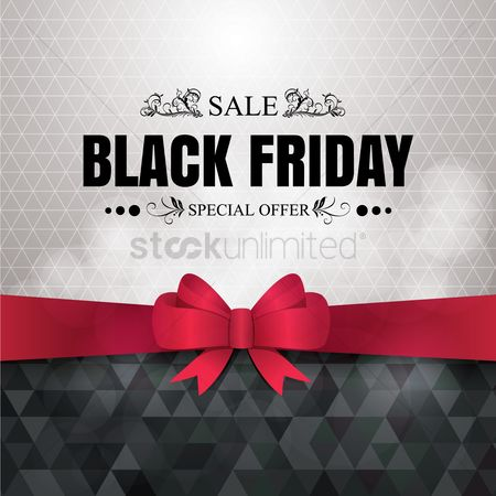 Black background : Black friday sale