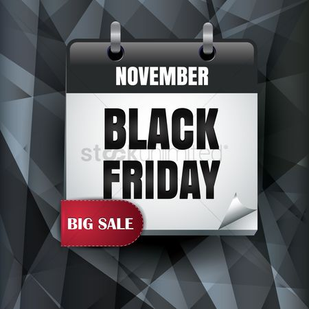 Shopping background : Black friday sale