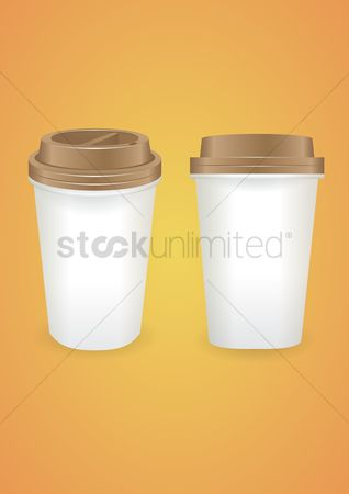 Disposable cup : Blank disposable cup