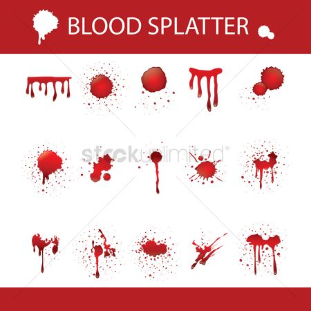 Dripping : Blood spatter collection