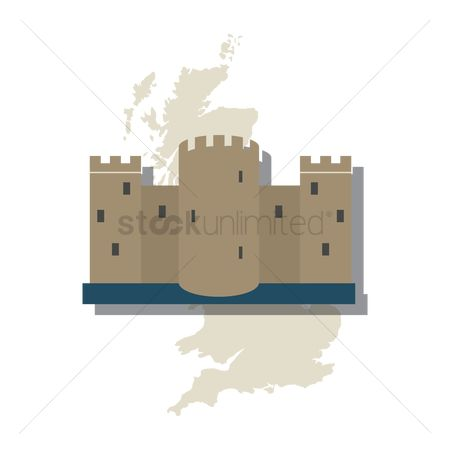 Cartography : Bodiam castle