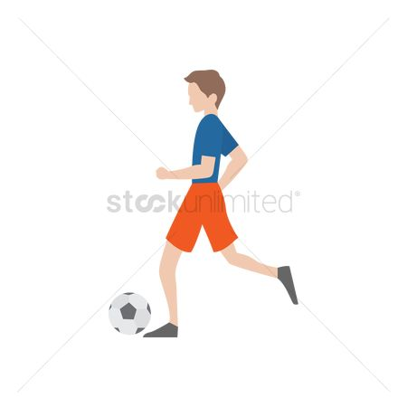 Challenges : Boy playing soccer
