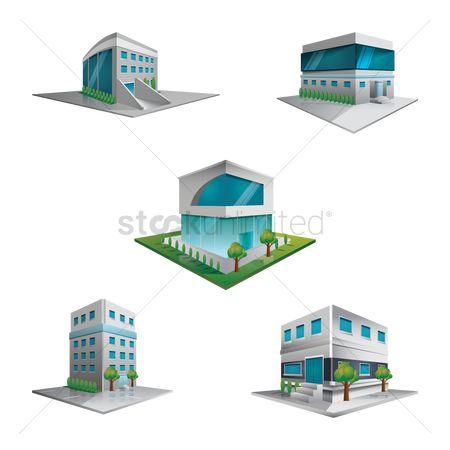 Commercials : Buildings and structures