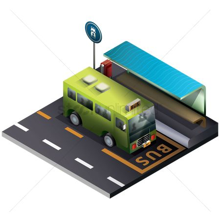 Transports : Bus stop
