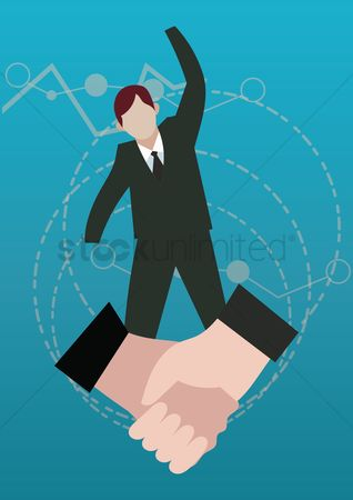 Business deal : Business agreement concept