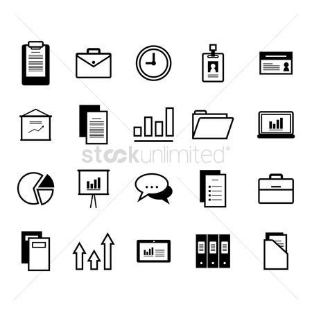 Checklist : Business icons