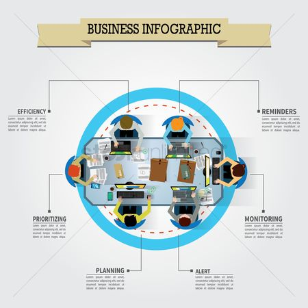 Research : Business infographic design