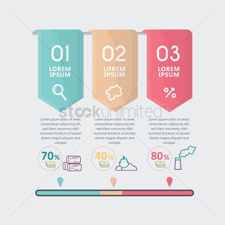 Logs : Business infographic