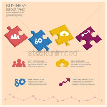 Increase : Business infographic