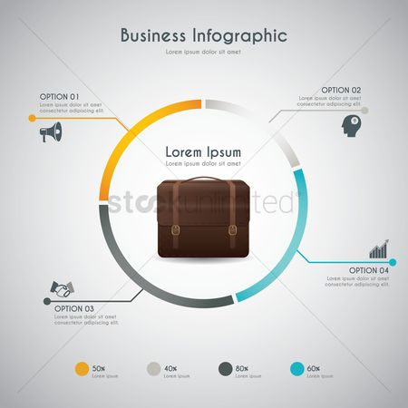 Digit : Business infographics