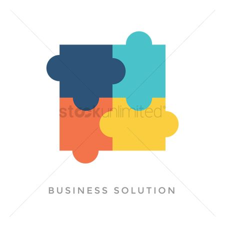 Jigsaw : Business solution concept