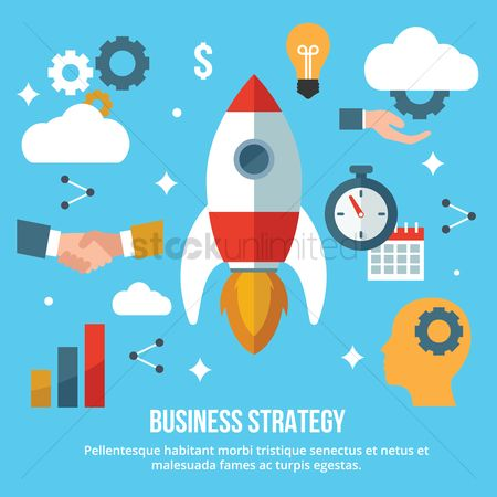 Ideas : Business strategy concept