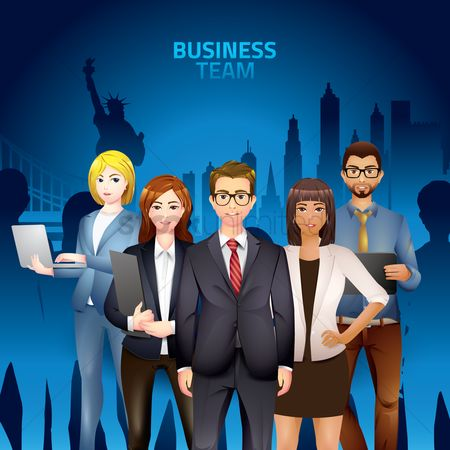 Entrepreneur : Business team